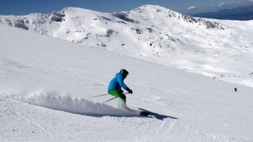 Sierra Nevada afronta el fin de semana con casi todo el dominio...