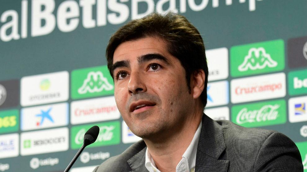 Ángel Haro, en una rueda de prensa reciente.