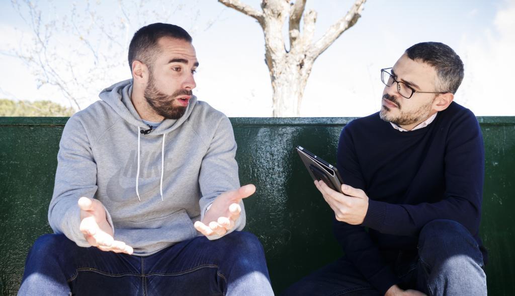 Carvajal conversa con nuestro redactor en la entrevista