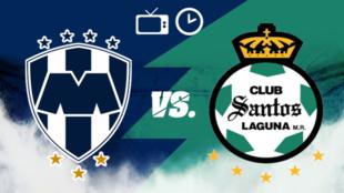 Monterrey vs Santos: Horario y dónde ver
