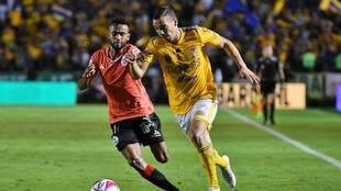 Tigres va por tres puntos más a Puebla.