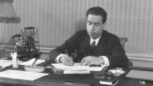Rafael Sánchez-Guerra, en su despacho .