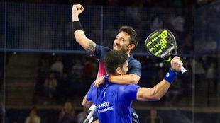 Sanyo y Maxi celebran su segunda victoria consecutiva en la presente...