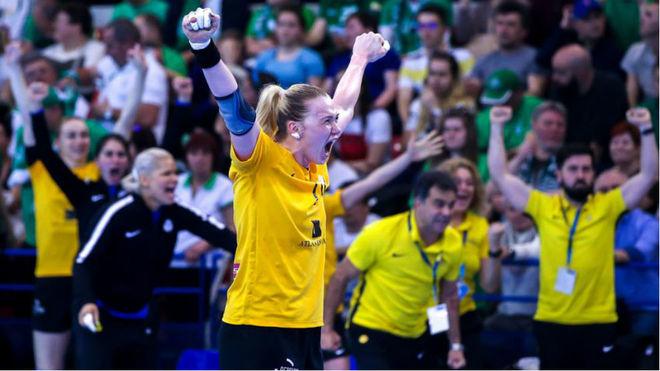 El Rostov Don ruso celebra el pase a la Final Four de la Champions /