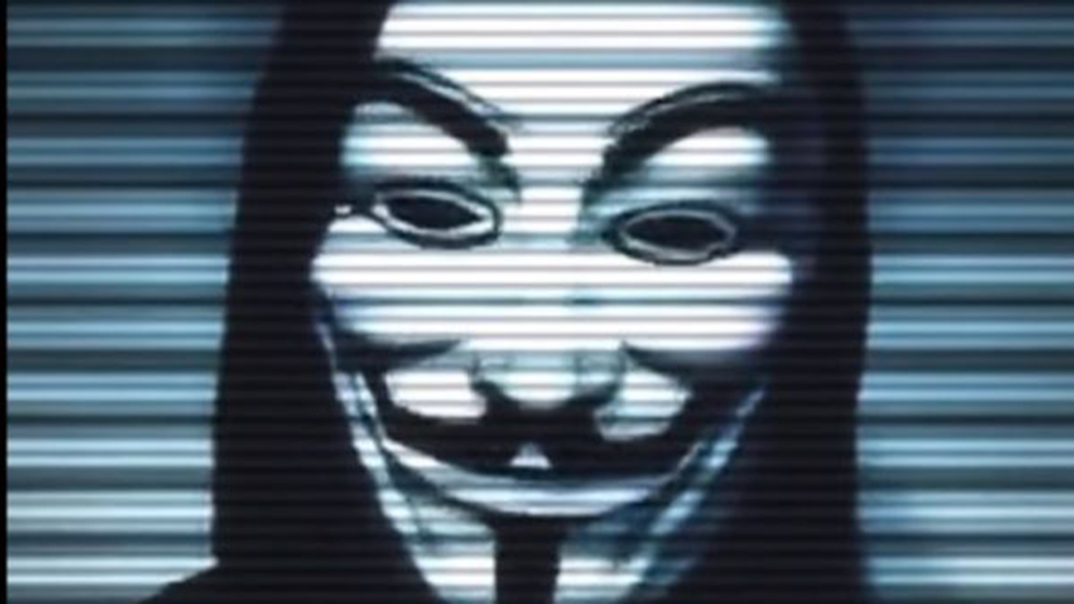 Fragmento del vídeo de Anonymous
