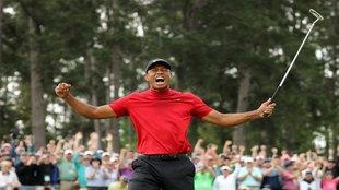 Tiger Woods revive en el Masters de Augusta.