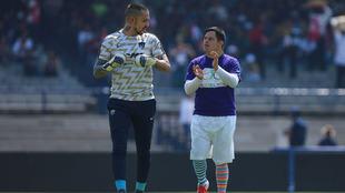 Pumas convive con Pablo Jiménez previo al partido ante Xolos.