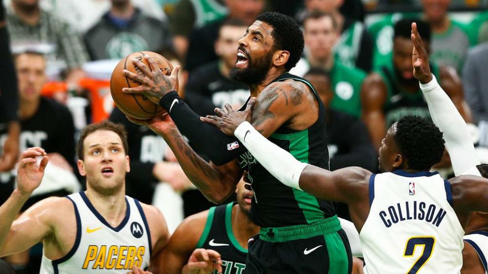 Los Celtics borran del mapa a los Pacers tras el descanso