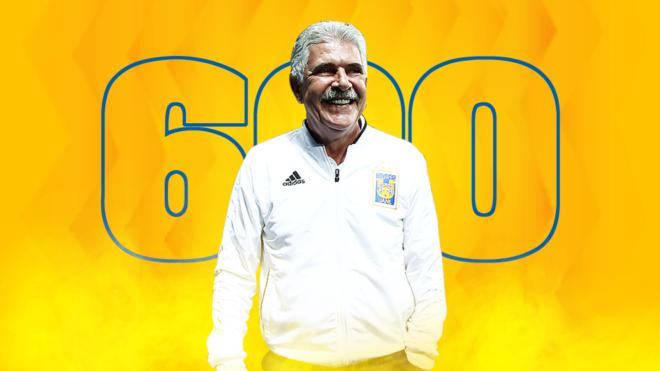 Tuca cumple 600 como domador de Tigres.