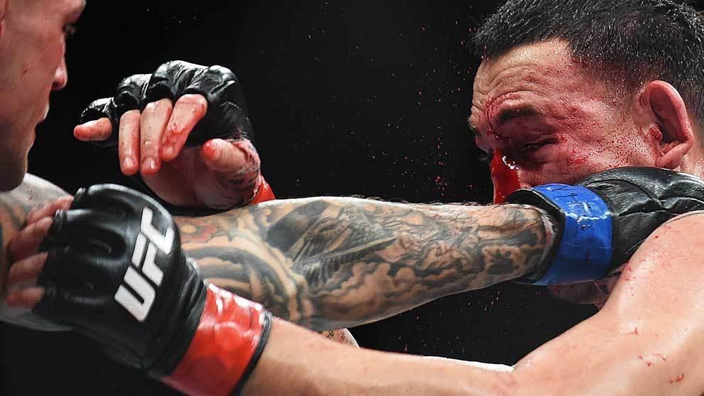 Dustin Poirier dio la sorpresa en el UFC 236 al vencer por decisión...