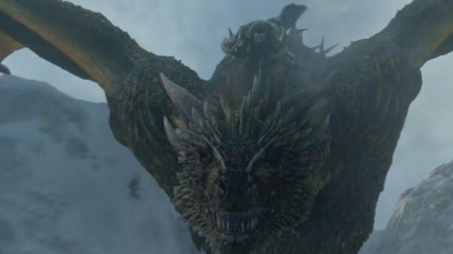 Juego de Tronos 8x01, Jon Snow monta por primera vez al dragón...