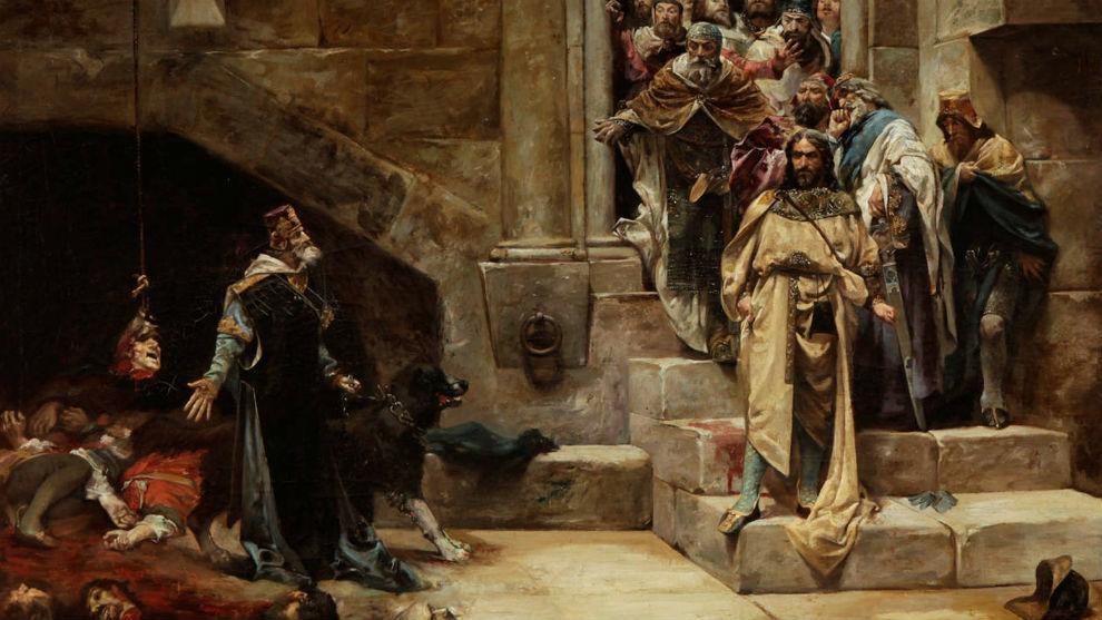 La campana de Huesca, por Casado del Alisal.
