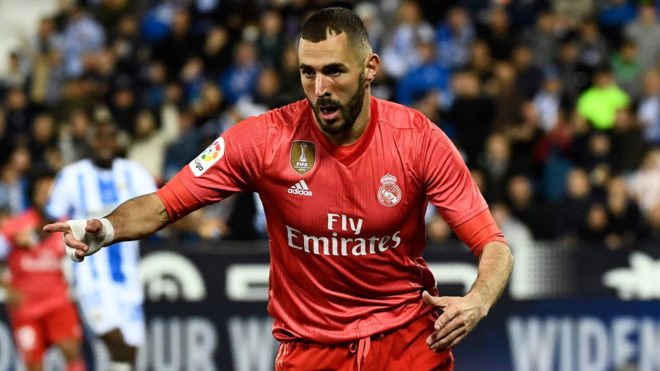 El gol del Real Madrid es cosa de Benzema: ha marcado los cinco últimos del equipo de Zidane