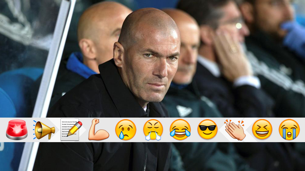 Zidane se lo va dejando claro a Ceballos, Marcos Llorente, Bale...
