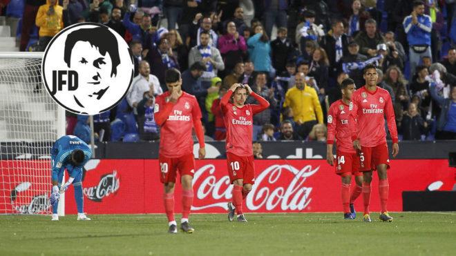 Un partido menos para terminar una triste temporada del Real Madrid