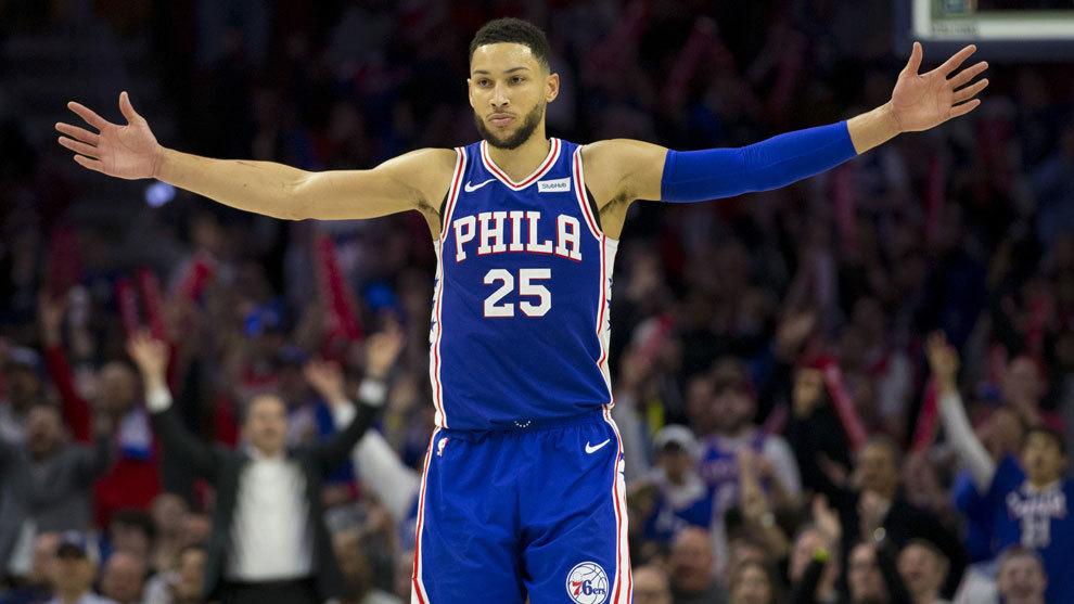 76ers empatan récord de puntos en un periodo en Playoffs
