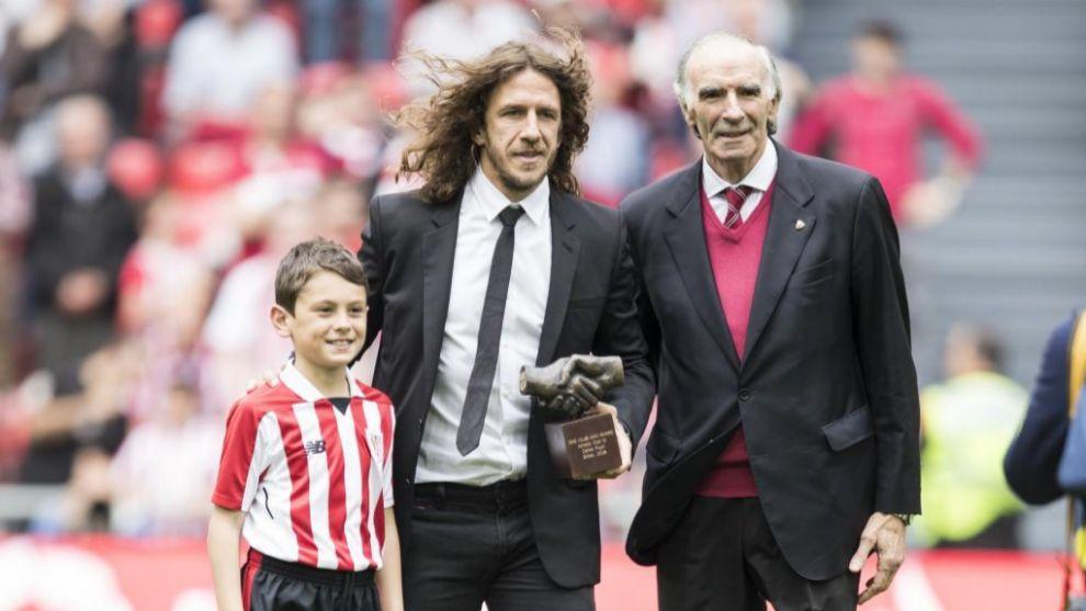 Puyol fue distinguido el pasado año como One Club Award