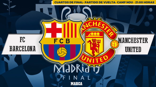 Champions League 2018-19: Barcelona - Manchester United: hora y ...