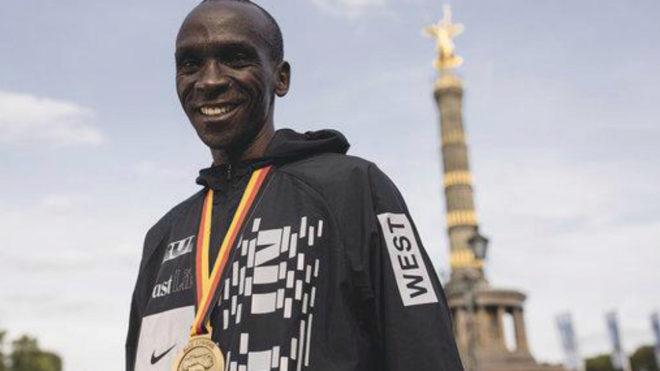 Eliud Kipchoge, oro en el maratón de Río 2016, ya ha anunciado su...