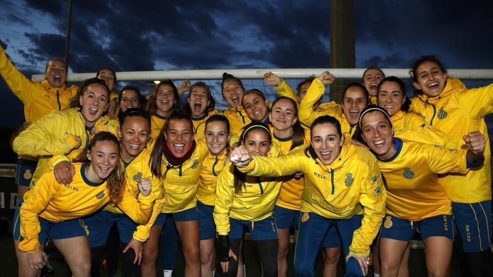 La plantilla del Femenino posa para MARCA en la Ciudad Deportiva antes de una sesión