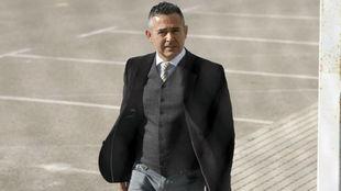 Diego García, presidente del Elche.