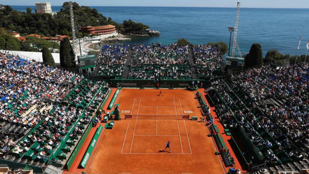Pista central del Monte Carlo Country Club
