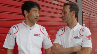 Tetsuhiro Kuwata y Alberto Puig.