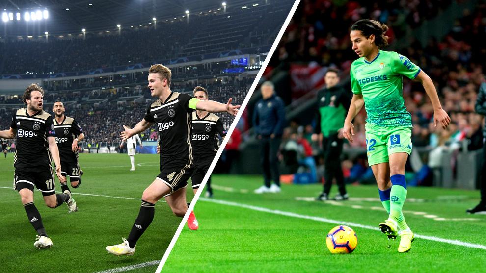 Diego Lainez optó por el Betis por encima del Ajax.
