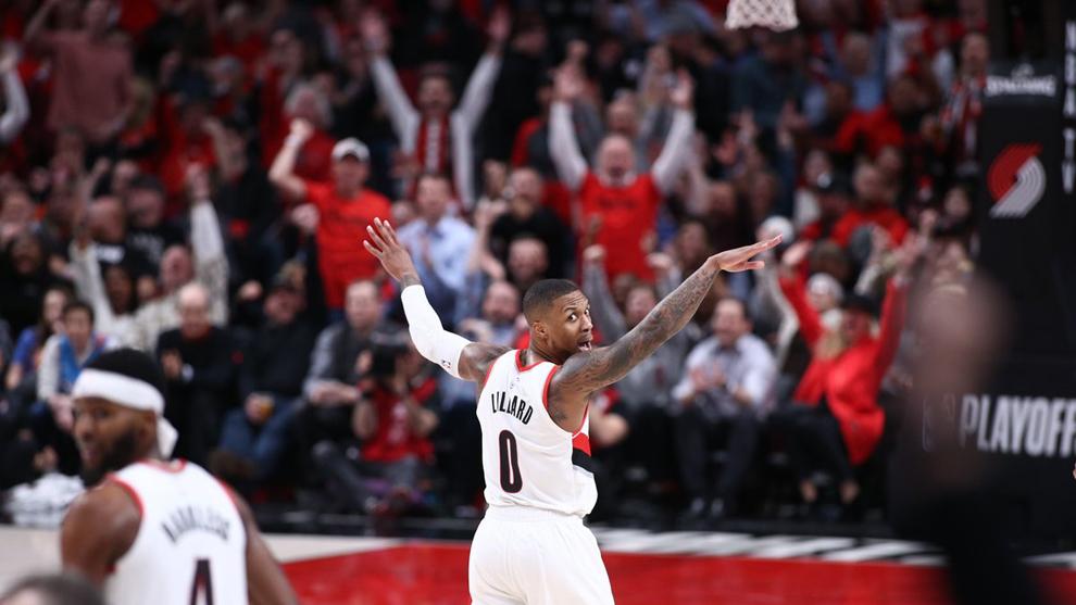 Los Trail Blazers sacaron el triunfo en el segundo de la serie.