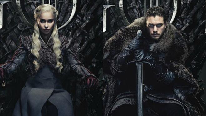Daenerys Targaryen y Jon Snow, personajes de 'Juego de Tronos'