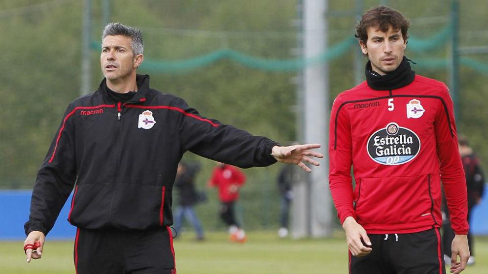 José Luis Martí y Mosquera, en un entrenamiento.