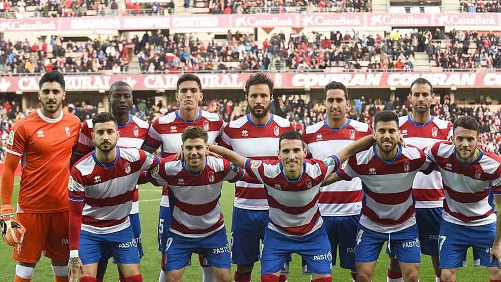 Once del Granada esta temporada.