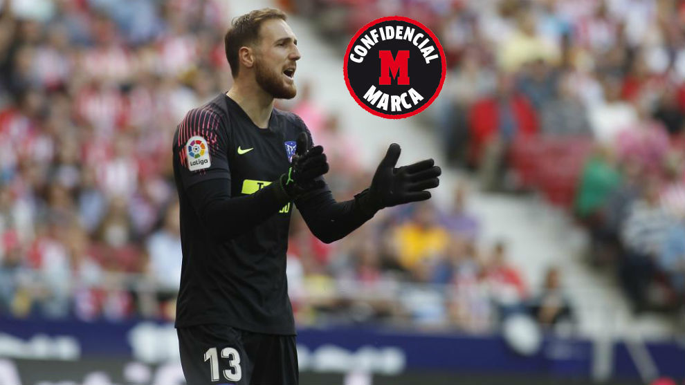 El portero Jan Oblak renueva con el Atlético hasta 2023