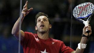Juan Martín Díaz, en plena acción.
