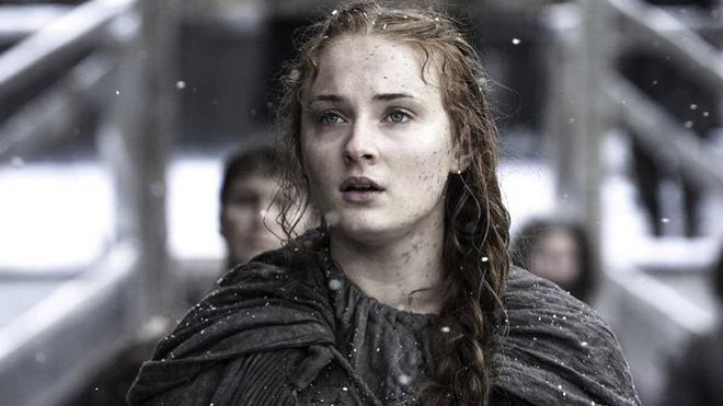 Sansa Stark, personaje de 'Juego de Tronos' interpretado por Sophie...