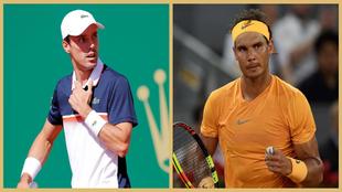 Roberto Bautista contra Rafael Nadal. Segunda ronda del Masters 1.000...