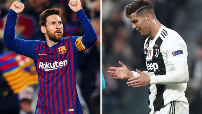 1848d383265 Messi vs Cristiano Ronaldo  Dreams of a Champions League final meeting end