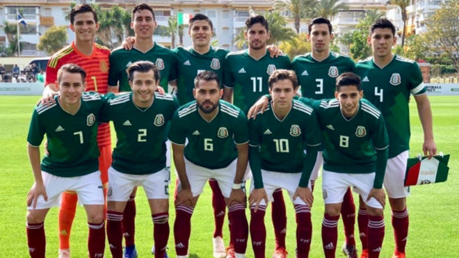 El representativo mexicano