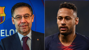 Bartomeu y Neymar