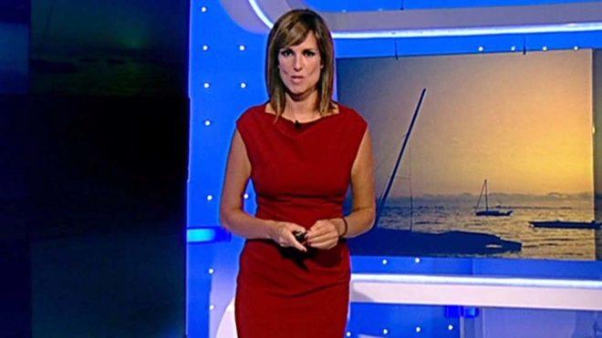 Mónica López, meteoróloga de TVE