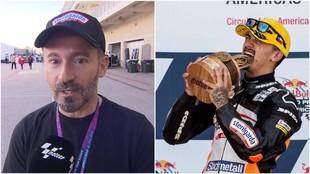 Max Biaggi y Arón Canet.