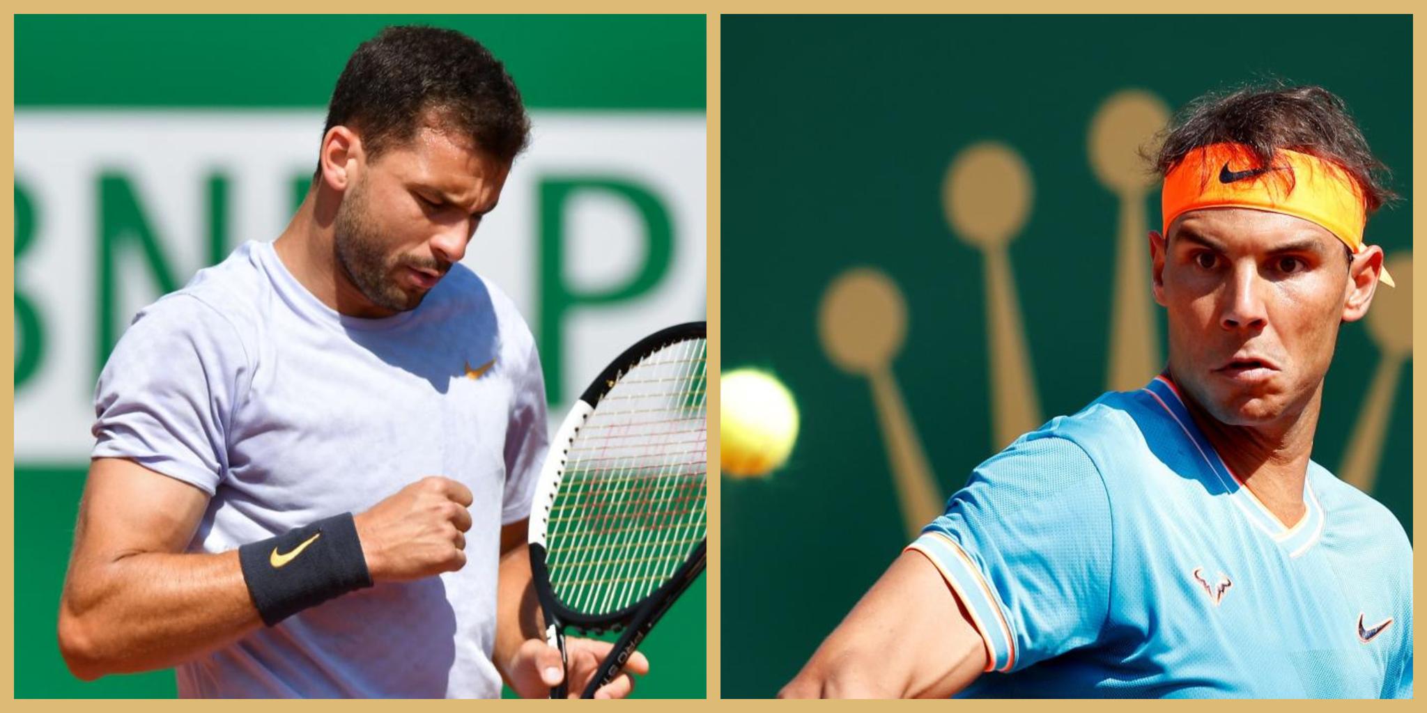Rafael Nadal - Dimitrov: en directo el partido de octavos de final de...