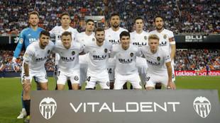 Once del Valencia CF