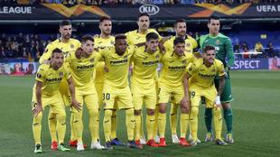 Equipo inicial del Villarreal