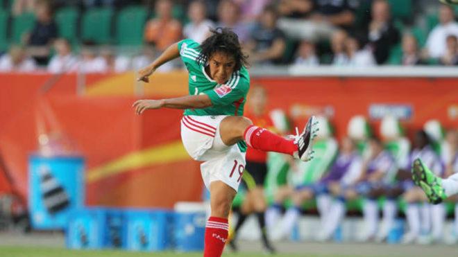 Mónica Ocampo, nominada al mejor gol en la historia de las Copas del Mundo Femenil