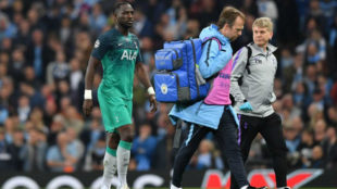 Sissoko going off with an injury on Wednesday night.