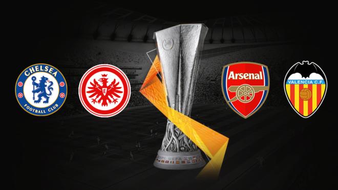 Listas las semifinales de la Europa League