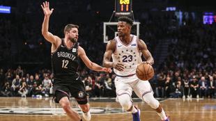 Los 76ers ganaron frente a los Nets.