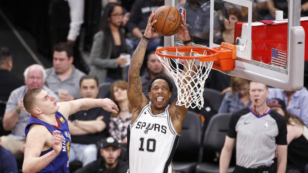 Los Spurs lideran 2 a 1 la serie ante los Nuggets.