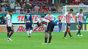 Chivas no sabe ganarle al Puebla.